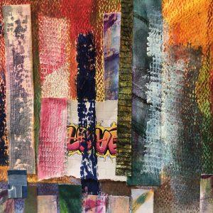 Abstract Watercolours & Mixed Media