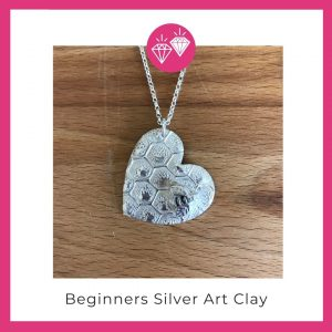 Silver Art Clay Jewellery Making Basingstoke Hampshire