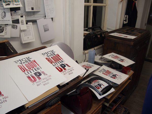 Letterpress Print a Poster Workshop