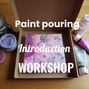Paint pouring courses for beginners