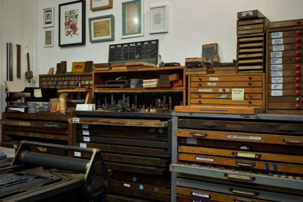 Letterpress Typography Print Workshop