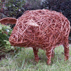 willow pig for workshops